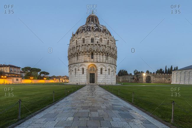 Italy- Pisa- Pisa Baptistery