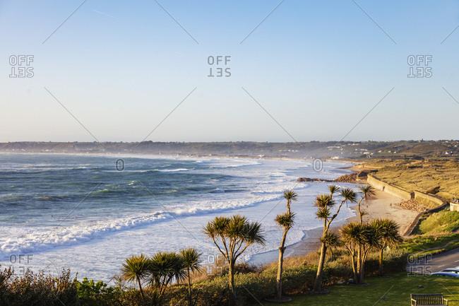 April 17, 2018: St. Ouen's Bay, Jersey, Channel Islands, United Kingdom, Europe