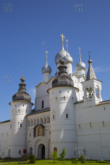 Resurrection of Christ Gate Church, Kremlin, Rostov Veliky, Golden Ring, Yaroslavl Oblast, Russia, Europe