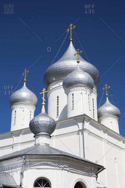 Nikitsky Cathedral, Nikitsky Monastery, Pereslavl-Zalessky, Golden Ring, Yaroslavl Oblast, Russia, Europe