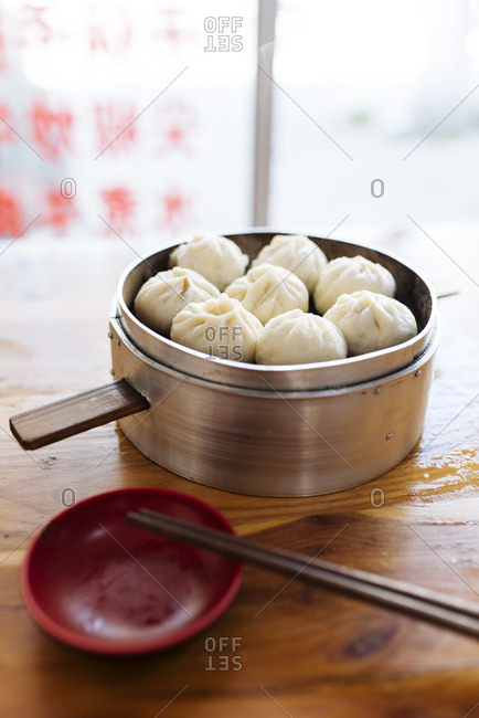 Steamed dumplings, Dali, Yunnan Province, China, Asia