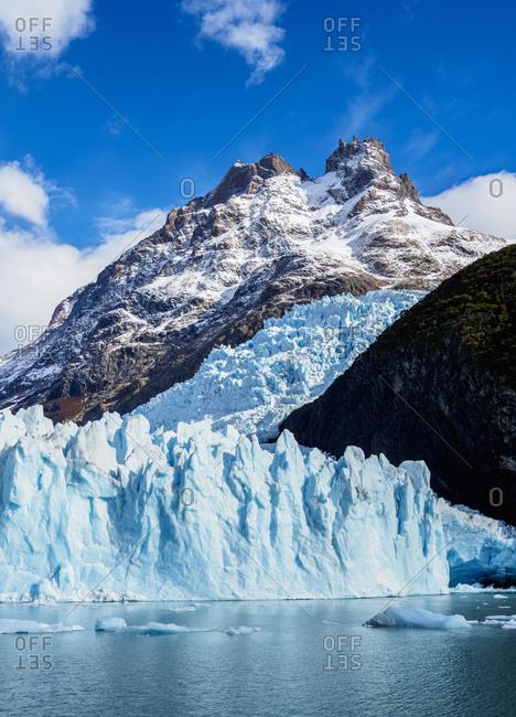 Spegazzini Glacier, Los Glaciares National Park, UNESCO World Heritage Site, Santa Cruz Province, Patagonia, Argentina, South America
