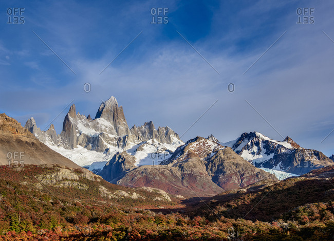 Mount Fitz Roy, Los Glaciares National Park, UNESCO World Heritage Site, Santa Cruz Province, Patagonia, Argentina, South America