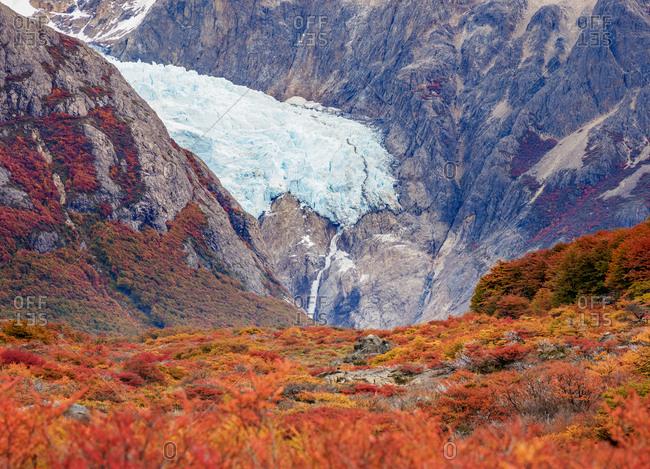 Piedras Blancas Glacier, Los Glaciares National Park, UNESCO World Heritage Site, Santa Cruz Province, Patagonia, Argentina, South America