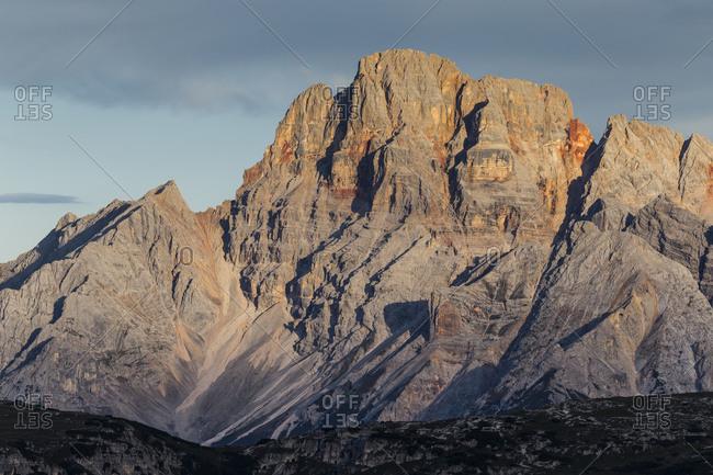 Europe, Italy, Alps, Dolomites, Mountains, Belluno, Sexten Dolomites, Croda Rossa di Sesto / Sextener Rotwand