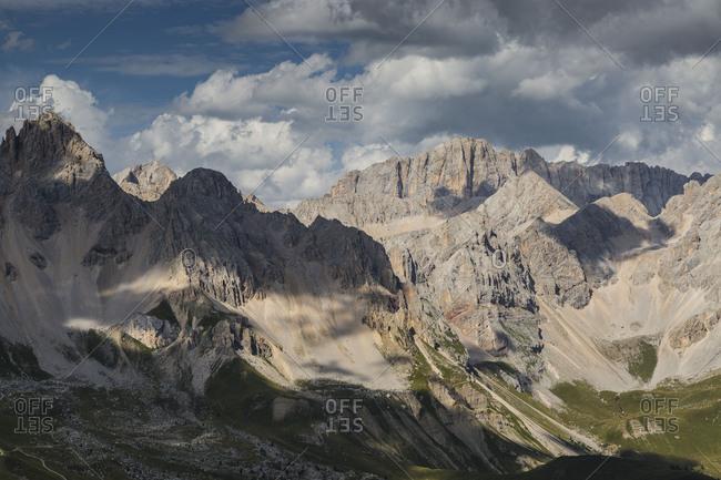 Europe, Italy, Alps, Dolomites, Mountains,  Trentino / Veneto, Marmolada, Col Margherita Park