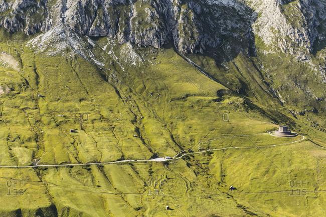 Europe, Italy, Alps, Dolomites, Mountains, Pordoi Pass