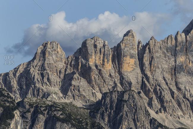 Europe, Italy, Alps, Dolomites, Veneto, Belluno, Colle Santa LuciaCivetta, view from Belvedere
