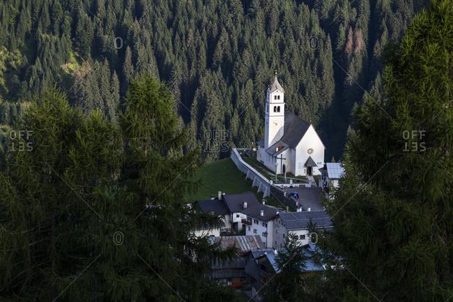 Europe, Italy, Alps, Dolomites, Veneto, Belluno, Colle Santa Lucia