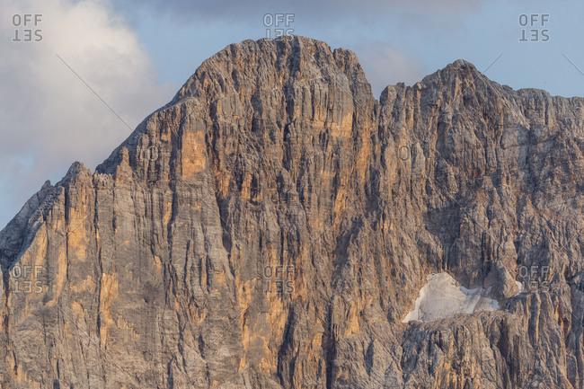 Europe, Italy, Alps, Dolomites, Veneto, Belluno, Colle Santa LuciaCivetta