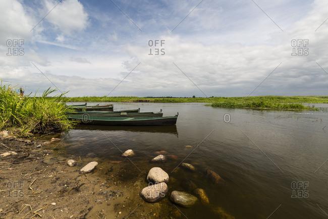September 15, 2017: Europe, Poland, Podlaskie Voivodeship, Narew National Park, Waniewo