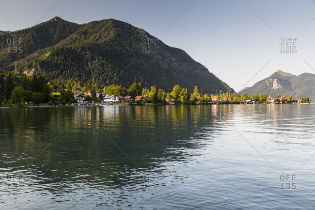 Europe, Germany, Bavaria, Alps, Walchensee