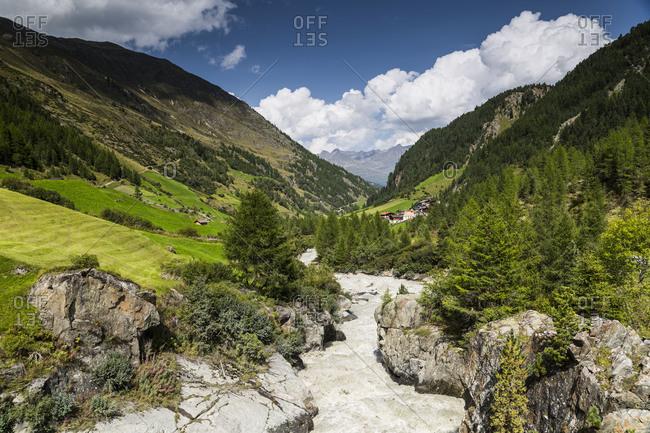Europe, Austria, Alps, Tyrol, OtztalVent