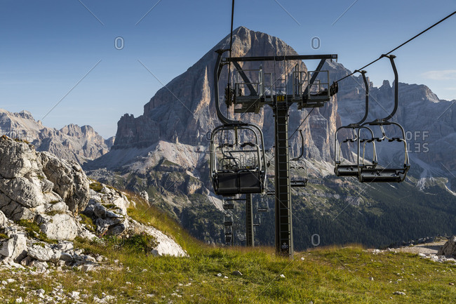 September 15, 2017: Europe, Italy, Alps, Dolomites, Mountains, Rifugio Averau