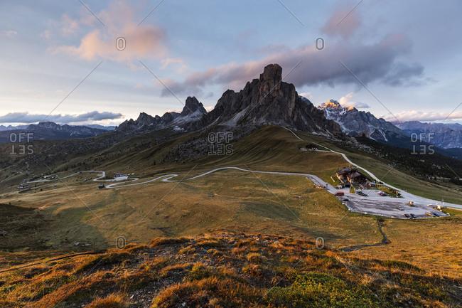 Europe, Italy, Alps, Dolomites, Mountains, Veneto, Belluno, Giau Pass
