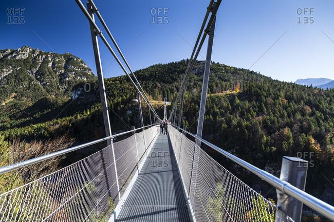 November 25, 2017: Europe, Austria, Alps, Tyrol, Highline 179