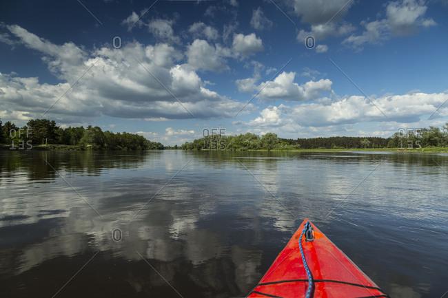 Europe, Poland, Voivodeship Masovian, Bug river near Kamienczyk