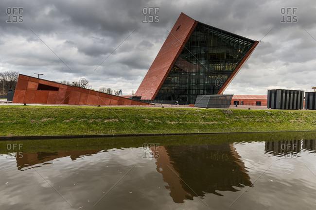 February 21, 2018: Europe, Poland, Pomerania, Gdansk/Danzig, Museum of the Second World War