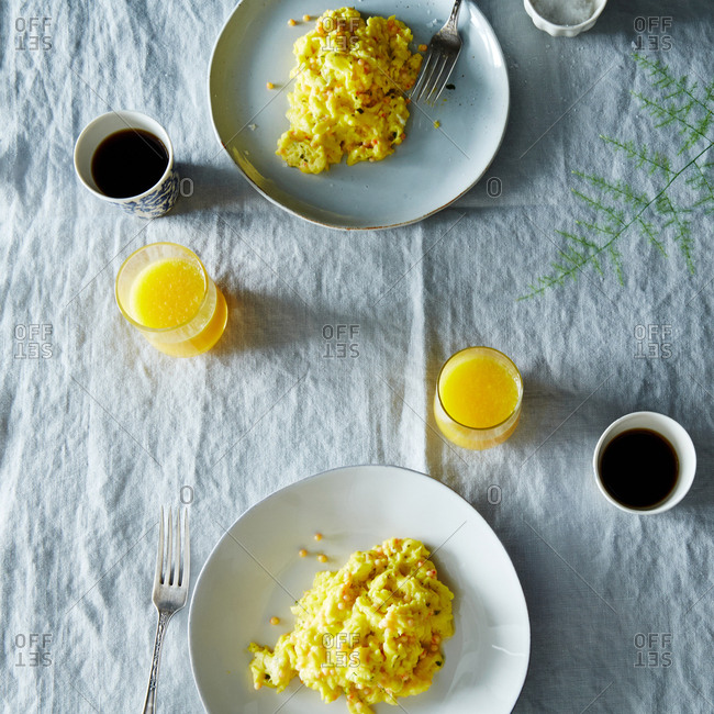 Scrambled eggs from the Offset Collection