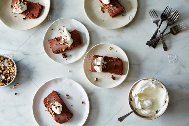Chocolate semifredo