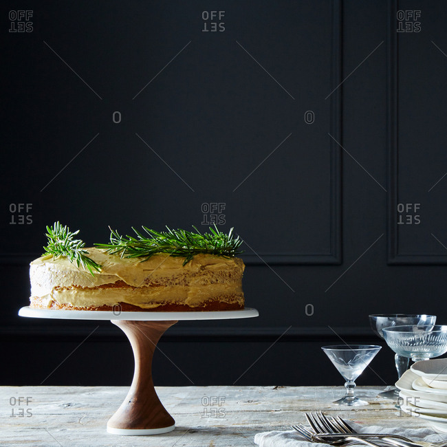 Cake stand from the Offset Collection