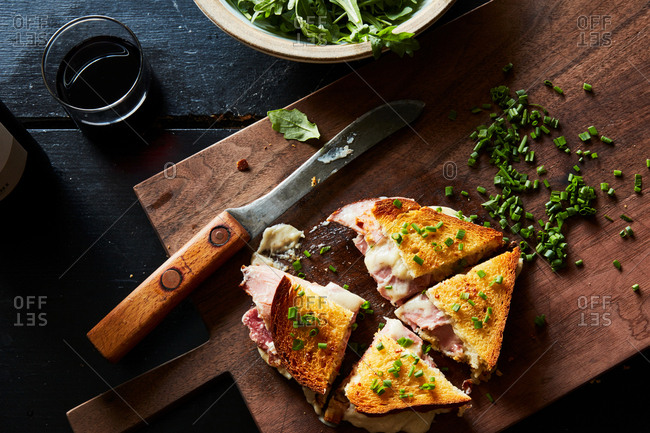 Croque monsieur from the Offset Collection