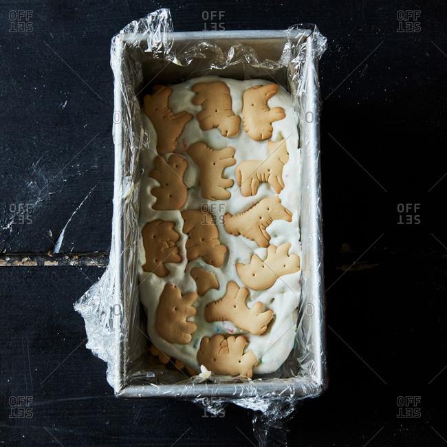 Ice cream bread pan