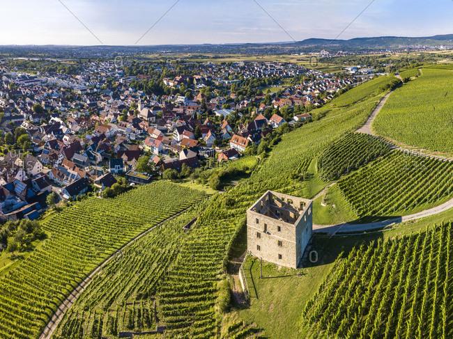 Germany- Baden-Wurttemberg- Rems Valley- Stetten- Yburg Castle