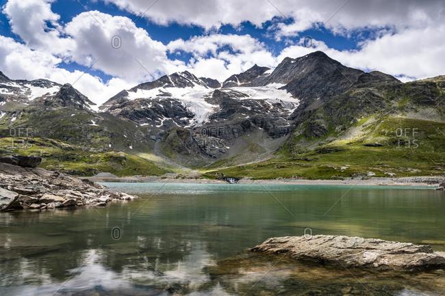 Switzerland- Graubuenden Canton- Lago Bianco