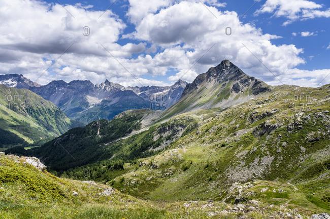 Switzerland- Graubuenden Canton- Livigno Alps