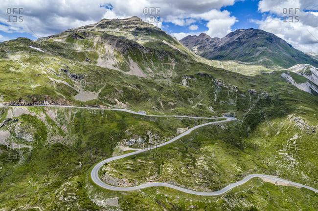 Switzerland- Graubuenden Canton- Livigno Alps- Bernina Pass