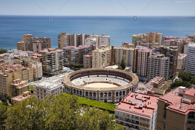 June 10, 2018: Spain- Andalusia- Malaga- bullring La Malagueta