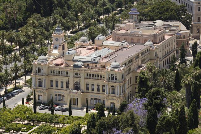Spain- Andalusia- Malaga- town hall