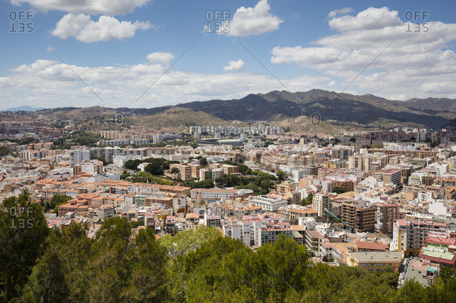 Spain- Andalusia- Malaga- city view