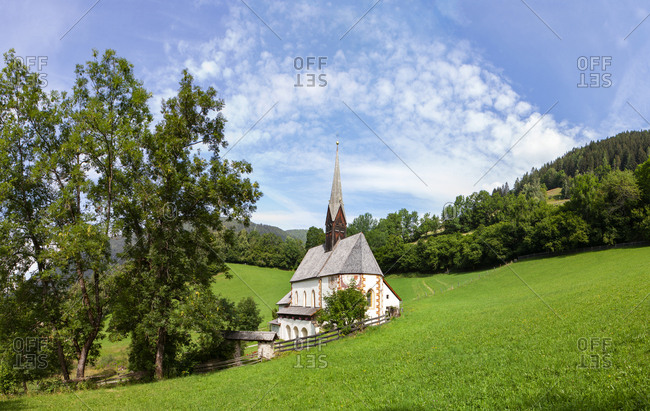 Austria- Carinthia- Bad Kleinkirchheim- Church St, Katharina im Bade
