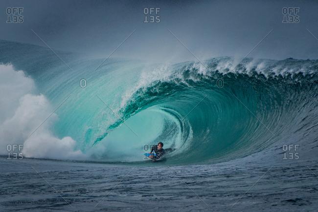 Riley\'s wave, body boarding, Doolin, Clare, Ireland