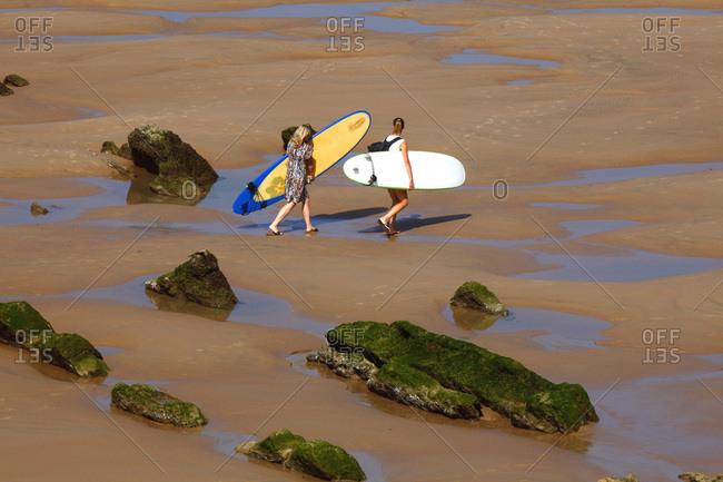 June 13, 2018: France, Aquitaine, Pyrenees Atlantiques (64) , Basque country, Biarritz, cote des basques beach