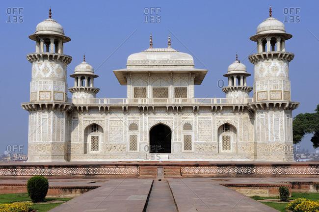 India, Uttar Pradesh, Agra, Itimad-ud-Daula mausoleum