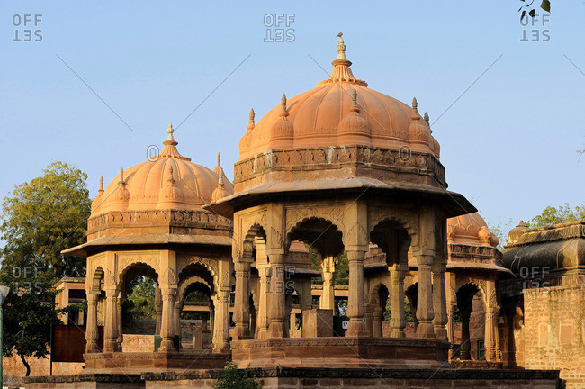 India, Rajasthan, necropolis of the maharajas in Mandore