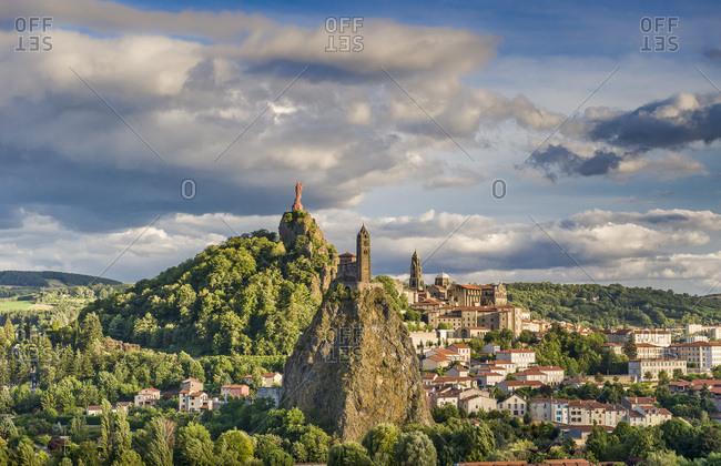 France, Auvergne-Rhones-Alpes, Haute-Loire, Le Puy-en-Velay
