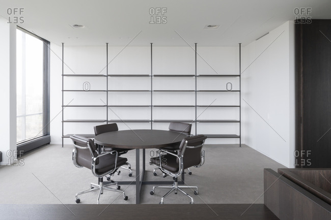 Interior of a modern office space