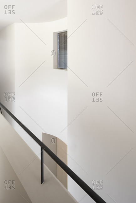 Stairwell in a modern interior