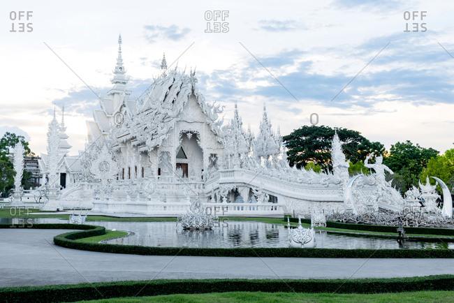 June 3, 2018: Wat Rong Khun (White Temple), Chiang Rai, Thailand
