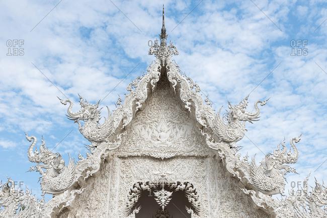 June 5, 2018: Wat Rong Khun (White Temple), Chiang Rai, Thailand