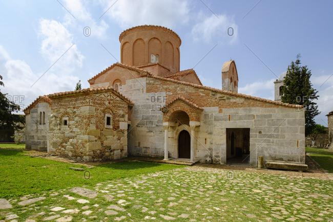 Albania- Fier County- ancient city Apollonia- St. Mary's Church