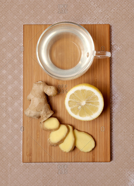 Tea, ginger, the body's defenses, ginger tea