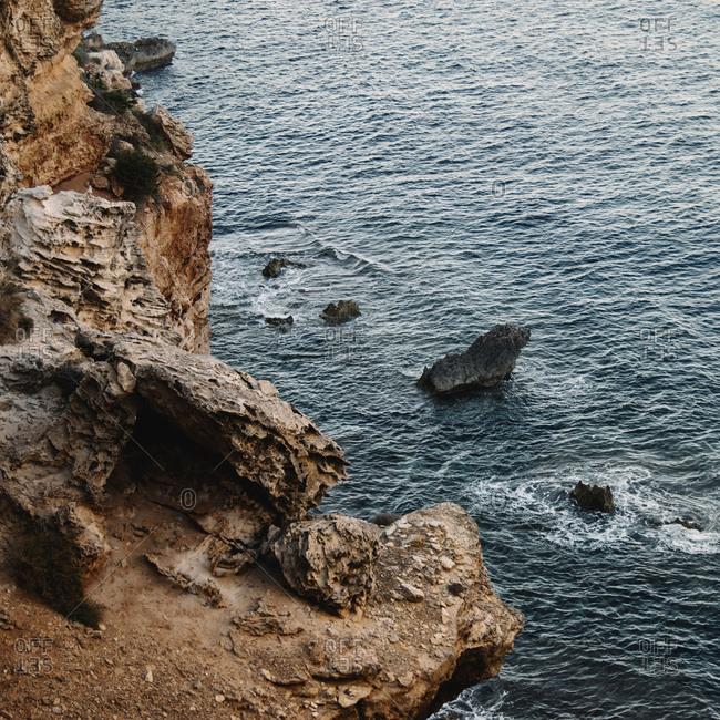 Cliff of Formentera, Punta Prima