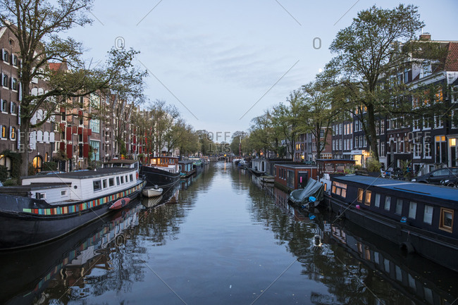 January 24, 2018: The Netherlands, Holland, Amsterdam
