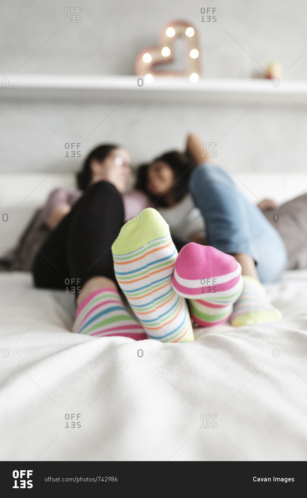 Teen Lesbians In Socks