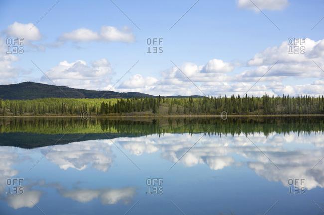 Hunter's lake, Yukon, Canada